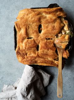 Wild Mushroom And Chicken Pie
