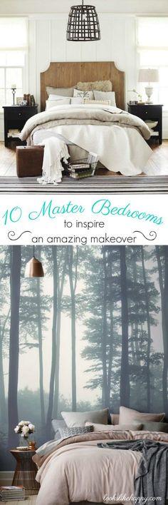 10 Master Bedrooms t