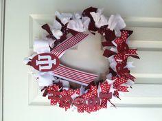 Hoosier Wreath! Indiana University