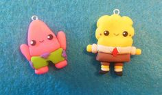 Spongebob and Patrick Tutorial ♥ Polymer Clay