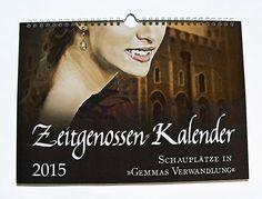 Zeitgenossen-Wandkalender. Erster Preis beim Weihnachtsgewinnspiel 2014