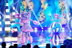 The Masked Singer introduced the third group of contestants in Wednesday's episode, revealing the Bear to be a former political frontrunner Peggy Lee Fever, Pictures Of Queen Elizabeth, Taylor Dayne, Kandi Burruss, Singing Competitions, Robin Thicke, Sarah Palin, Celebrity Faces, Big Little Lies