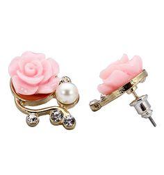 UNIQUE JEWLERY Flower Earrings, Stud Earrings, Jewerly, Cream, Store, Unique, Beautiful, Fashion, Creme Caramel