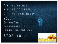 Leading NGO in India for Youth Welfare/Development Youth, Learning, Quotes, Quotations, Studying, Young Man, Teaching, Qoutes, Education
