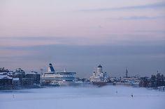 Winter lifeline spans Helsinki Harbour - thisisFINLAND