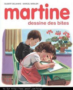 Martine dessine des bites #parodie