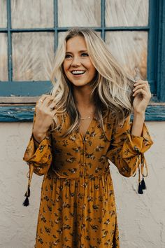 Perfect Fall Dress | ROOLEE