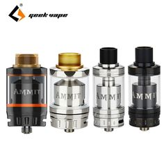 29.99$  Buy here - http://alisvi.shopchina.info/go.php?t=32779571090 - Original Geekvape Ammit RTA Dual Coil/Single Coil Build Deck Ammit Rebuildable Tank Electronic Cigarette RDTA Style Juice Flow 29.99$ #SHOPPING