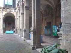 Bologna - Archiginnasio and some works