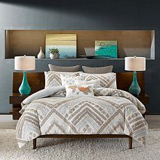 INK+IVY Cornwall Comforter Mini Set - Full/Queen Price: USD 109.95  | http://www.cbuystore.com/product/ink-ivy-cornwall-comforter-mini-set-full-queen/10127802 | United States
