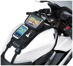 2015 Nelson-Rigg Strap Mount GPS Sport Bike Motorcycle Tank Bag Mate #NelsonRigg