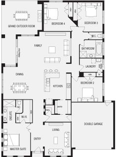 4 bedroom 3 bath ranch plan Google Image Result for http://www ...