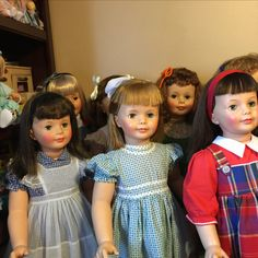 Vintage Patti Playpals Marla's dolls
