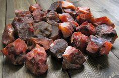 Carnelian works as an energy booster when you're feeling drained. It also will increase sexual desire. #carnelian #autumnequinox