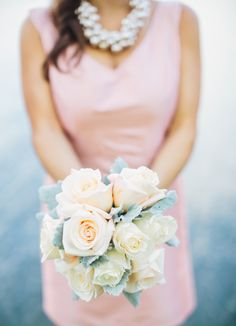 Blush and white Photography By / http://paigelowephoto.com