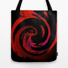 #Society6 Red Passion  Tote Bag by Elena Indolfi - $22.00