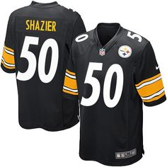 ca0073456 Nike Pittsburgh Steelers Men s  50 Ryan Shazier Game Black Home NFL Jersey  Pittsburgh Steelers Jerseys