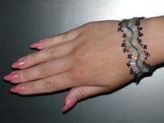 """Bracelet """"A blue wave"""""""