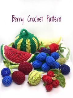 -CHERRY CROCHET PATTERN- -STRAWBERRY CROCHET PATTERN- -BLUEBERRY CROCHET PATTERN- -RASPBERRY CROCHET PATTERN - -BLACKBERRY CROCHET PATTERN- -WATERMELON CROCHET PATTERN- -MELON CROCHET PATTERN- -GRAPES CROCHET PATTERN- -GOOSEBERRY CROCHET PATTERN- -OLIVE CROCHET PATTERN- -CURRANT CROCHET PATTERN-