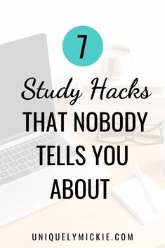 Studying in college is a lot different than it was in high school. You'll have to re-learn what studying techniques work best for you. These are my top 7 tips on how to study the most effectively and ace any exam. Final Exam Study Tips, Best Study Tips, Good Study Habits, Final Exams, Best Time To Study, School Study Tips, Study Tips For College, College Board, School Tips
