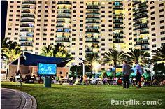 Partyflix Event night City of Golden Beach