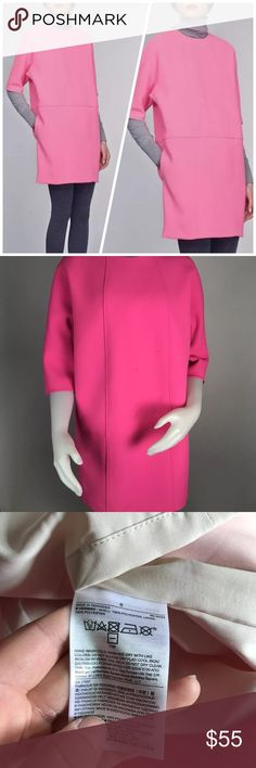 05a4a6da44a NEW Banana Republic Neon Mod Cocoon Dress Details  Size on label  6 Fabric  Content