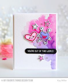 Out of This World, Lucky, Out of This World Die-namics, Lucky Die-namics, Sentiment Strips Die-namics - Kay Miller   #mftstamps
