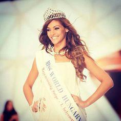 Miss World Hungary 2014 :) Miss World, Hungary, T Shirts For Women, Tops, Fashion, Moda, Fashion Styles, Fashion Illustrations