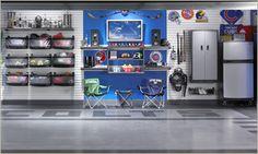 Gladiator® GarageWorks | Garage Organization Packages for Automobile, Gardening, and Sports Equipment from Gladiator® GarageWorks