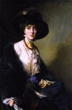 """Vita Sackville-West"" (1910) by Philip Alexius de László (1869-1937)."