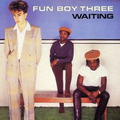 """Waiting is the second and final studio album by the Fun Boy Three. It was released in 1983 and featured the hit single """"Our Lips Are Sealed,"""" Gorillaz, Coventry, Fun Boy Three, Terry Hall, Tunnel Of Love, Music Mood, Music Artwork, Vintage Vinyl Records, Lp Vinyl"""