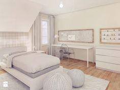 Pokój nastolatki - metamorfoza - Pokój dziecka, styl skandynawski - zdjęcie od Px3 Pracownia Projektowa Prokopowicz
