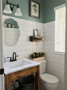 Shiplap Powder Room DIY Remodel – BrandNewell Design Company Shiplap Powder Room DIY Remodel – BrandNewell Design Company Source by Upstairs Bathrooms, Downstairs Bathroom, Bathroom Renos, Diy Bathroom Decor, Bathroom Ideas, Shiplap Bathroom Wall, Bathroom Makeovers, Bathroom Organization, Modern Bathrooms