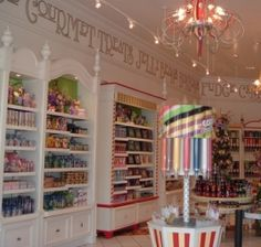 Psychomusicartologist: Cool Candy Stores