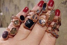 Copper Jewelry, Wire Jewelry, Bracelets, Rings, Ring, Wire Wrapped Jewelry, Jewelry Rings, Wire Wrap Jewelry, Bracelet