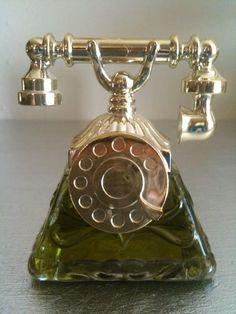 Vintage Avon La Belle Telephone Perfume
