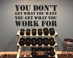 Hockey Locker Room Decor Gym Wall Decal Sports by JandiCoGraphix