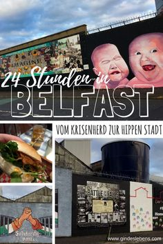 Attractions in Belfast – from the hot spot to the hip city - Politica Belfast, Reisen In Europa, Titanic, Tromso, Travel Companies, Northern Ireland, Weekend Getaways, Nature Images, Travel Around