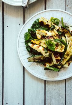 chargrilled zucchini and halloumi salad | (Souvlaki For The Soul)