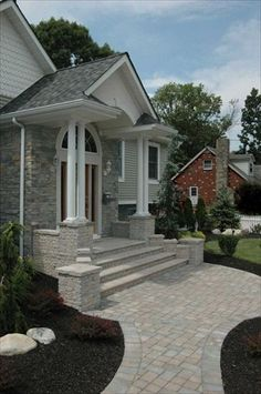ep henry paver porch steps steps and walkways pavers ep henry