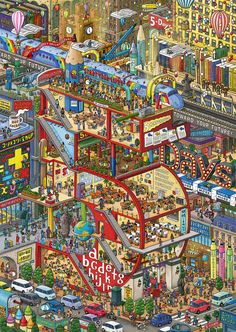 Intricate Cities by IC4DESIGN