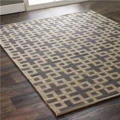 Geometric Flatweave Maze Rug entry