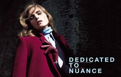 DEDICATED TO NUANCE 秘められたアンドロジナスな魅力。 PHOTOGRAPHED BY WILLY VANDERPERRE STYLED BY GEROGE CORTINA