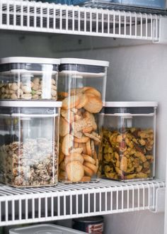 A Mix of Min shares tips on organizing your kitchen with products from The Container Store. #TheContainerStore #HomeOrganization #KitchenOrganization