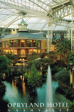 Postcards | Opryland Hotel, Nashville, Tennessee
