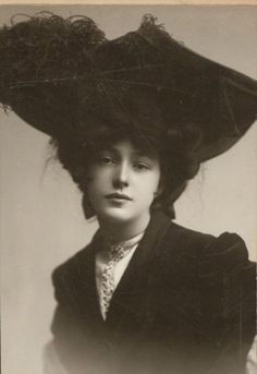 Unknown woman in a hat, unknown date. Let me know if you recognize so that I can put context to the photo.
