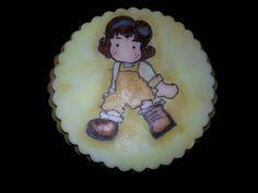 Delicada galleta para niñas delicadas.