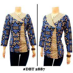 Blouse Batik Bagoes Solo KODE : DBT 2887    Harga: Rp.75.000.-/pcs | stock 20 pcs  ukuran: Allsize