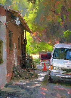 Barlow Break Area by Jennifer McChristian Oil ~ 12 x 9