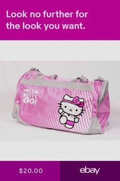 Hello Kitty Women s Bags   Handbags Clothing, Shoes   Accessories  ebay ce5a5b6662